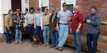 Volunteers Build Ramp for Veteran
